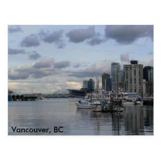 Burrard Inlet, Vancouver, BC Post Card