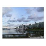 Burrard Inlet - Vancouver, BC Postcard