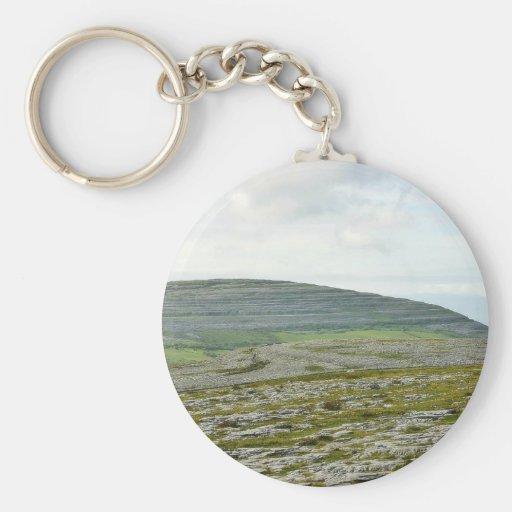 Burren Clouds Mountains Hills Keychains