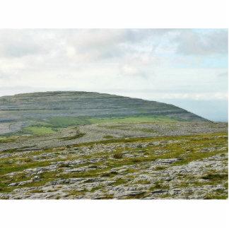 Burren Clouds Mountains Hills Standing Photo Sculpture