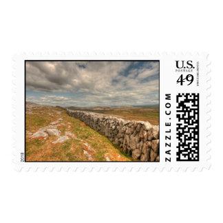Burren Stone Wall Postage Stamp