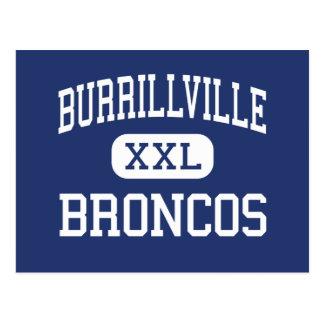 Burrillville - Broncos - High - Harrisville Postcard