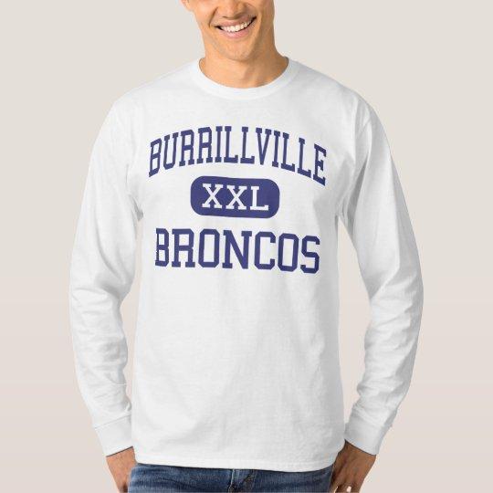 Burrillville - Broncos - High - Harrisville T-Shirt