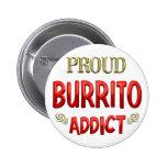 Burrito Addict Pinback Button