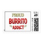 Burrito Addict Postage Stamps