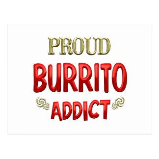 Burrito Addict Postcard