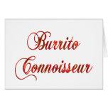 Burrito Connoisseur Cards