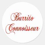 Burrito Connoisseur Stickers