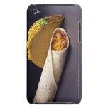 Burrito del Taco y de la haba iPod Case-Mate Cárcasa