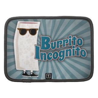 Burrito Incognito 2 Folio Planner