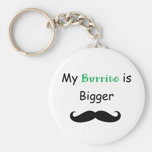 Burrito Key Chain