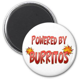 Burrito Power Refrigerator Magnet