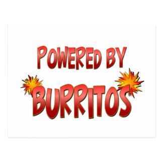 Burrito Power Postcard