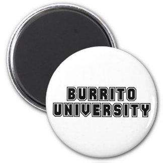Burrito University Refrigerator Magnet