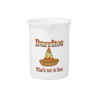 Burritos a amar jarras