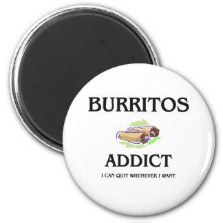 Burritos Addict Magnets