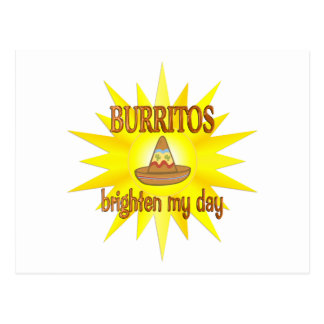 Burritos Brighten Postcard