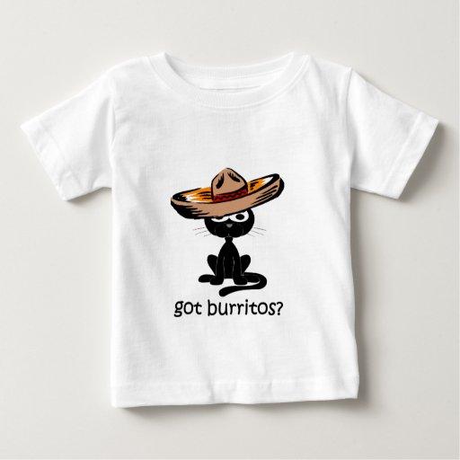Burritos conseguidos divertidos tshirt