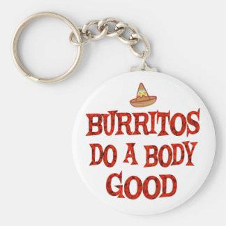 Burritos Do Good Key Chain