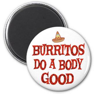Burritos Do Good Fridge Magnet