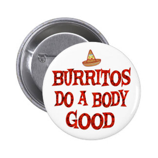 Burritos Do Good Pinback Button