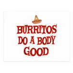 Burritos Do Good Post Card
