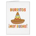 BURRITOS GREETING CARDS