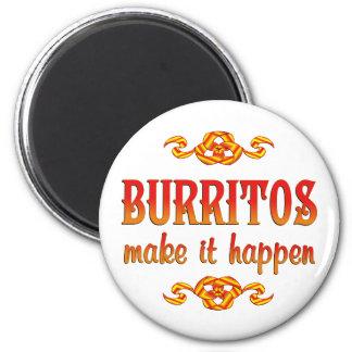 Burritos Refrigerator Magnets