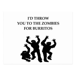 burritos postcard