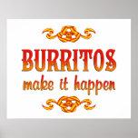 Burritos Poster