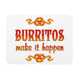 Burritos Vinyl Magnet