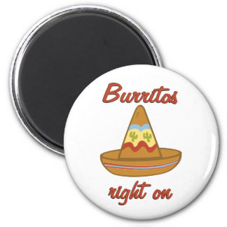 Burritos Right On Magnets