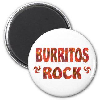 BURRITOS ROCK FRIDGE MAGNETS
