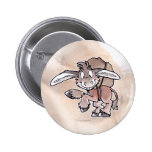Burro 2 Inch Round Button