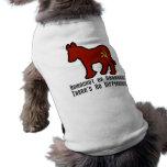 Burro comunista ropa perro