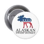 Burro de Alaska del pantano Pin