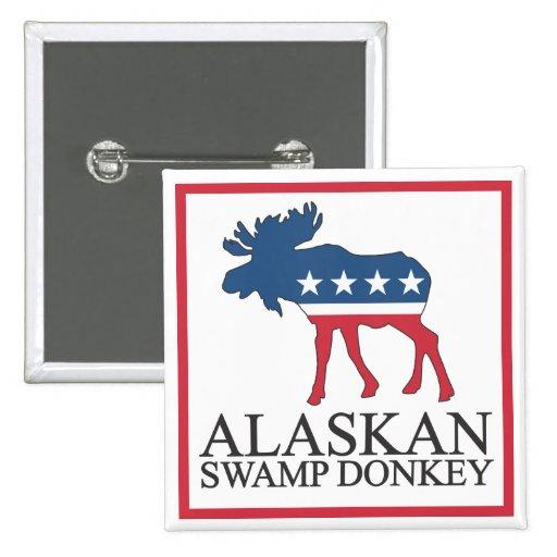 Burro de Alaska del pantano Pins