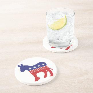 Burro de Indiana Demócrata Posavaso Para Bebida