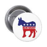 Burro de Kentucky Demócrata Pin