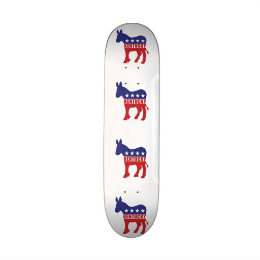 Burro de Kentucky Demócrata Tablas De Skate
