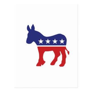 Burro de la original de Demócrata Postal