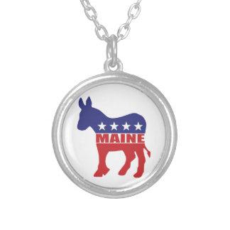 Burro de Maine Demócrata Joyería