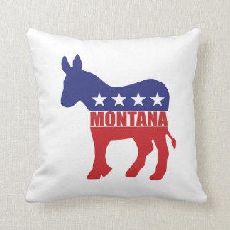 Burro de Montana Demócrata Almohada