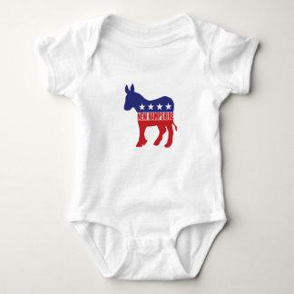 Burro de New Hampshire Demócrata Body Para Bebé