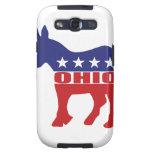 Burro de Ohio Demócrata Samsung Galaxy S3 Protector