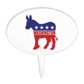 Burro de Washington Demócrata Decoración De Tarta