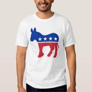 burro del demócrata playeras