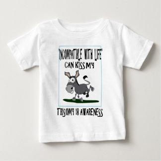 Burro del Trisomy 18 Camisas