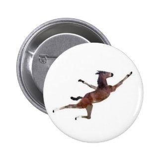 burro del vuelo pin redondo 5 cm