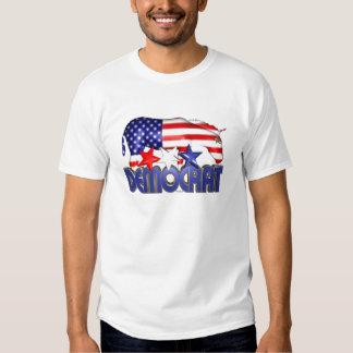 Burro Democratic de la bandera de ValxArt los Camisas